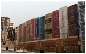 De openbare bibliotheek in Kansas City