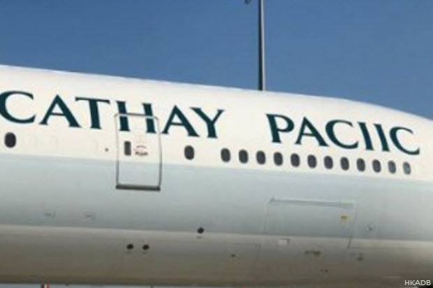 spelfout Cathay Paciic